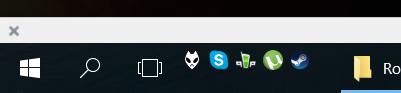 Панель быстрого запуска в Windows 10